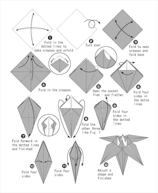 종이접기 설명서